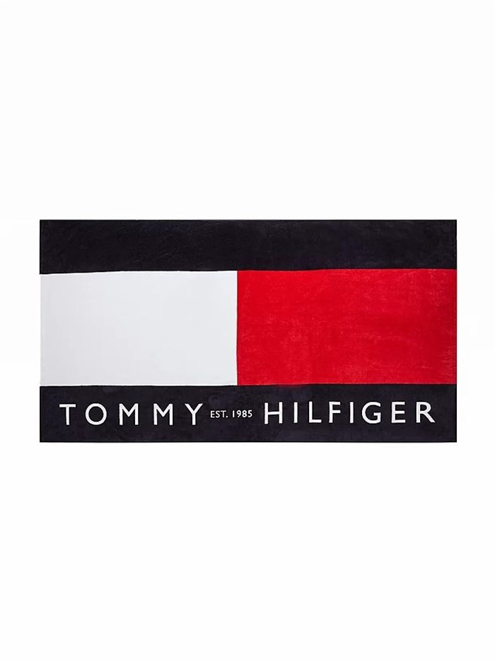 Tommy Hilfiger beachwear Beach towel Blue