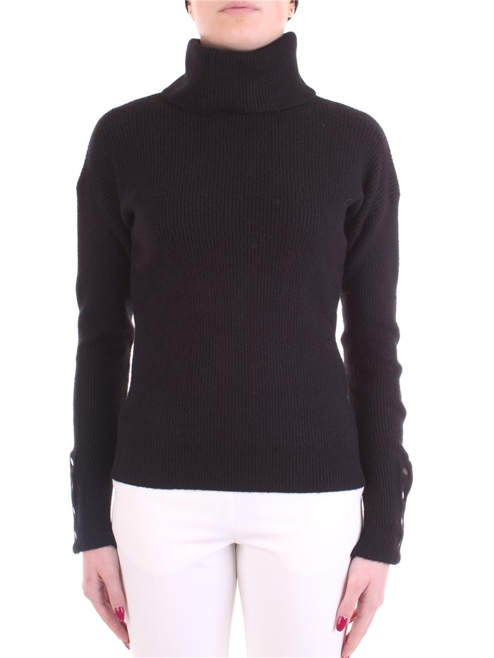 WHITE WISE Polo neck Black