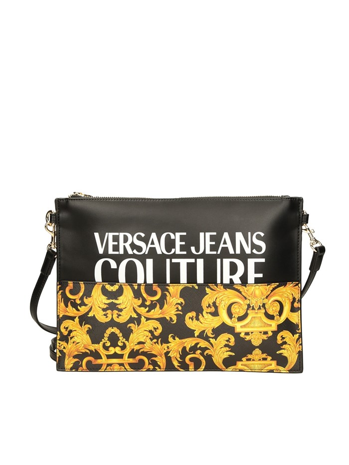 VERSACE Jeans Couture Clutch Black / gold
