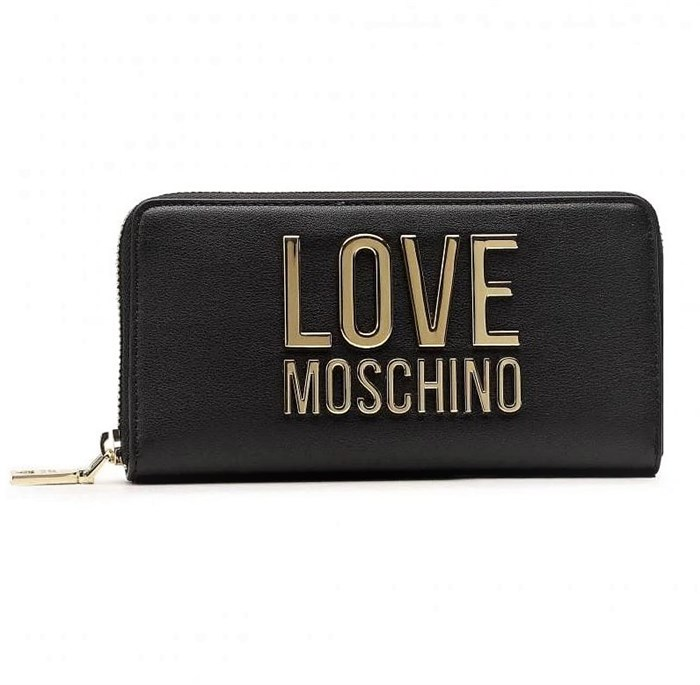 MOSCHINO LOVE With zip Black