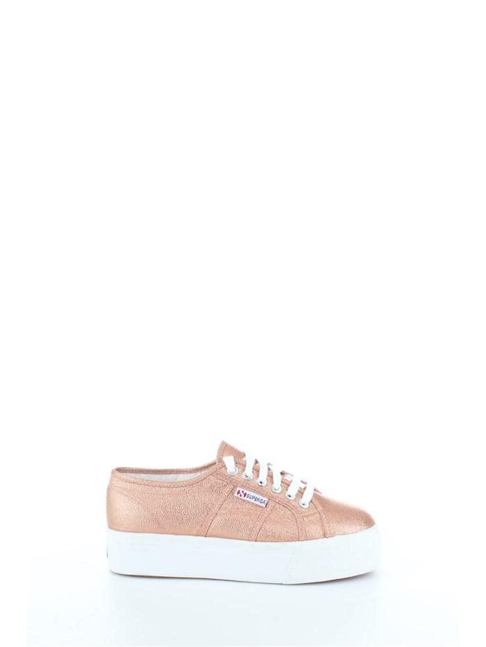 Sneakers Line On Rosa Donna Su Superga Vendita CxHqCwS4r