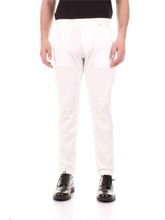 autorizzazione numerosi in varietà il più votato a buon mercato Bicolore Pantalone Uomo Bianco   Mxm Fashion