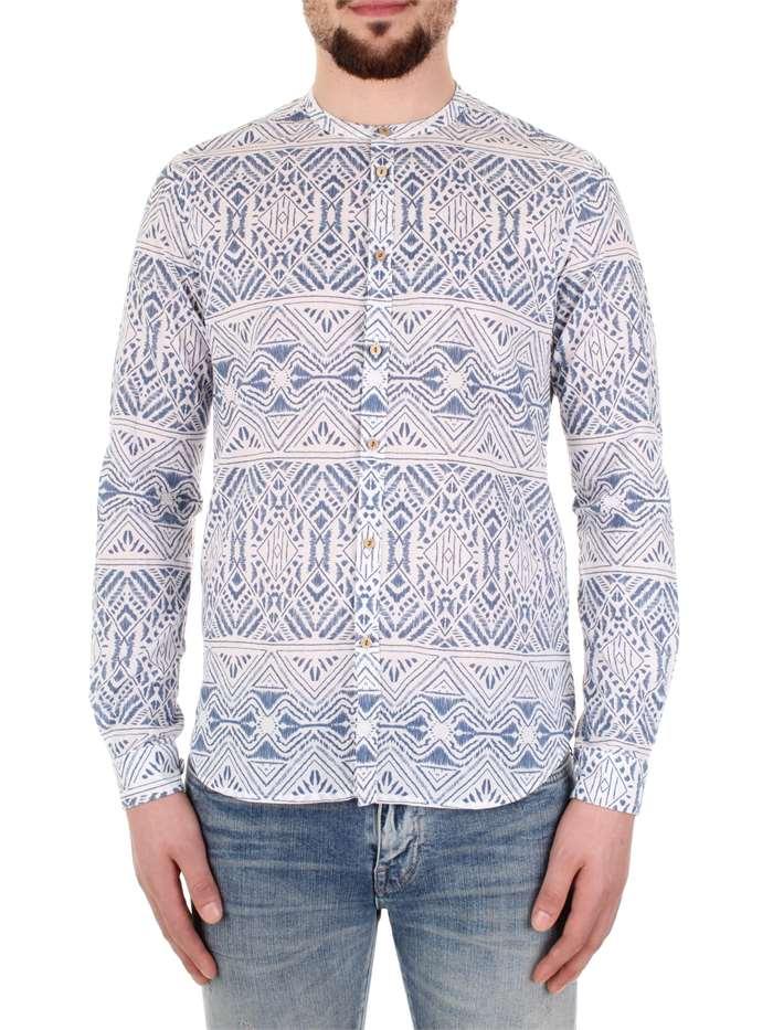free shipping 546f2 f083a Bicolore Camicia Uomo Bianco/blu | Mxm Fashion