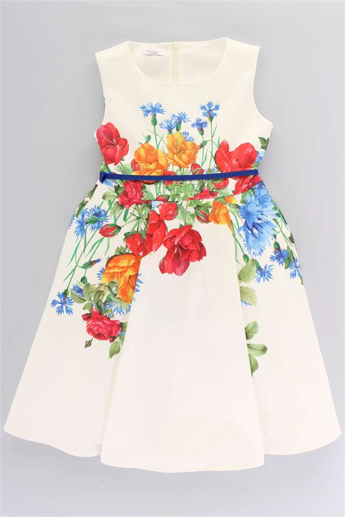 best website 6ca69 1d01c Byblos Abito Bambina Bianco | Mxm Fashion