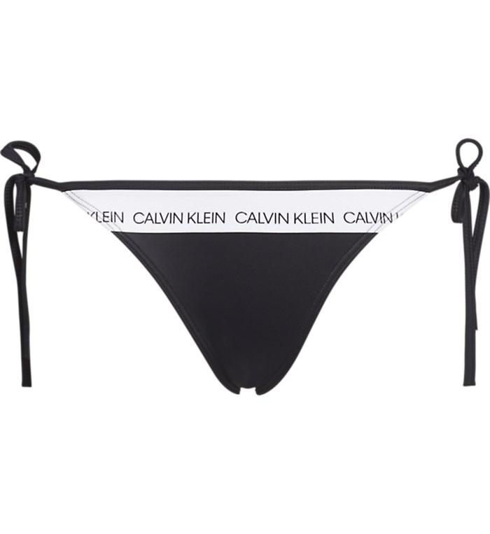 new concept 5dd6f 8c389 Calvin Klein Jeans Slip beachwear Donna Nero | Mxm Fashion