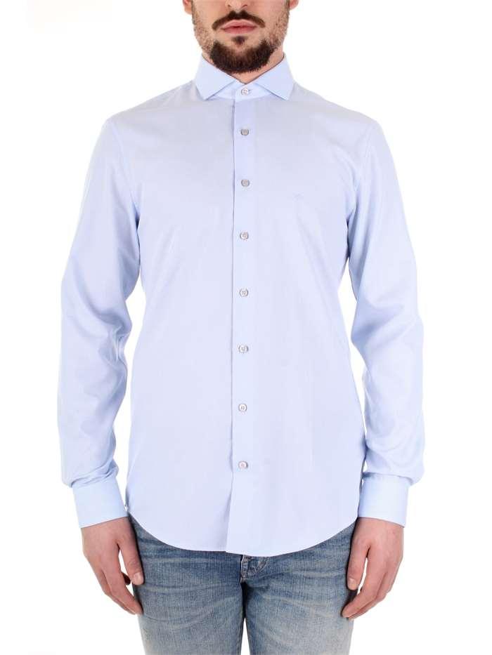 online store b4aff 61ba2 Calvin Klein Camicia Uomo Celeste | Mxm Fashion