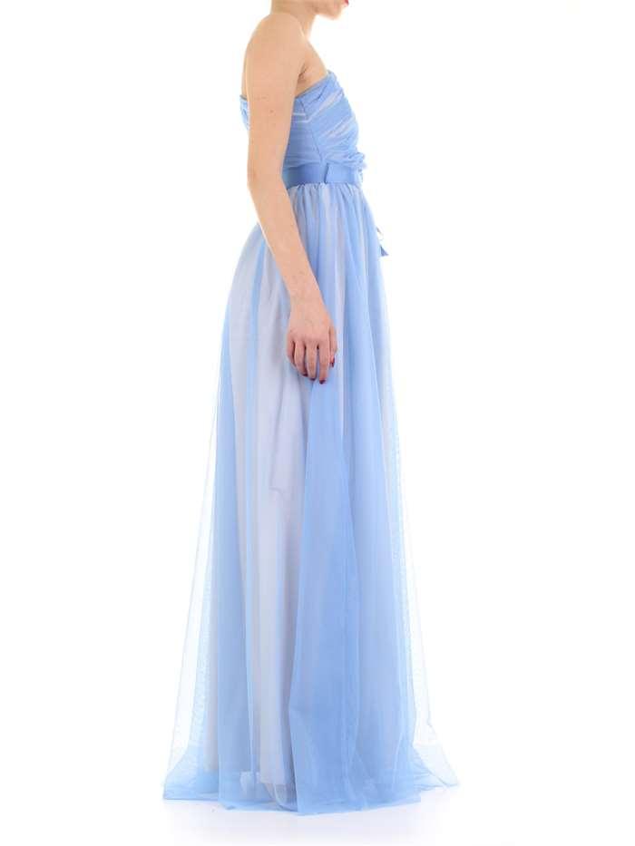 d8517d660338 Abito RELISH Donna - Azzurro - Vendita Abito On line su mxmfashion.com