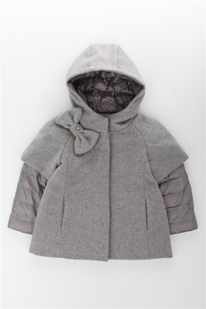 competitive price bb6aa c1749 Byblos Cappotto Bambina Grigio | Mxm Fashion