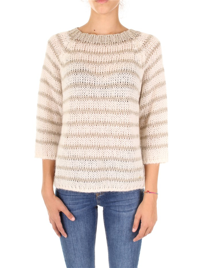 d761e9c25ae5 Sweater GAUDI  fashion Woman - Beige - Buy Sweater On line on ...