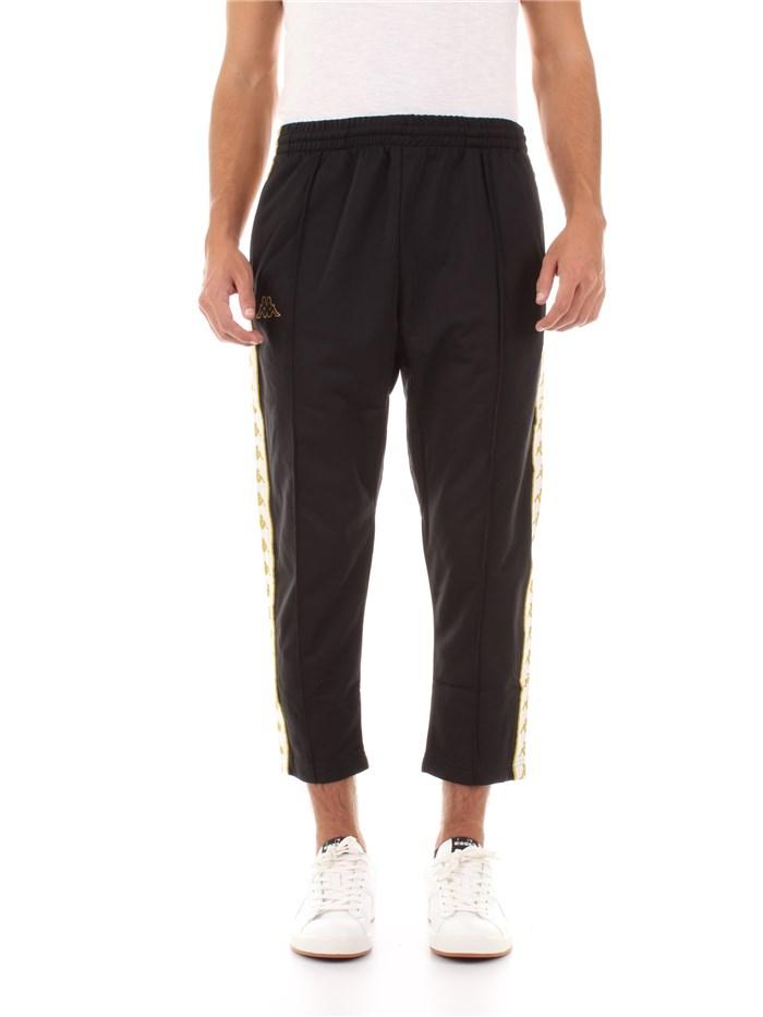 Pantalone Nerobiancooro Vendita Kappa Line Uomo On E4xwZrA4q dff83bfaaa9