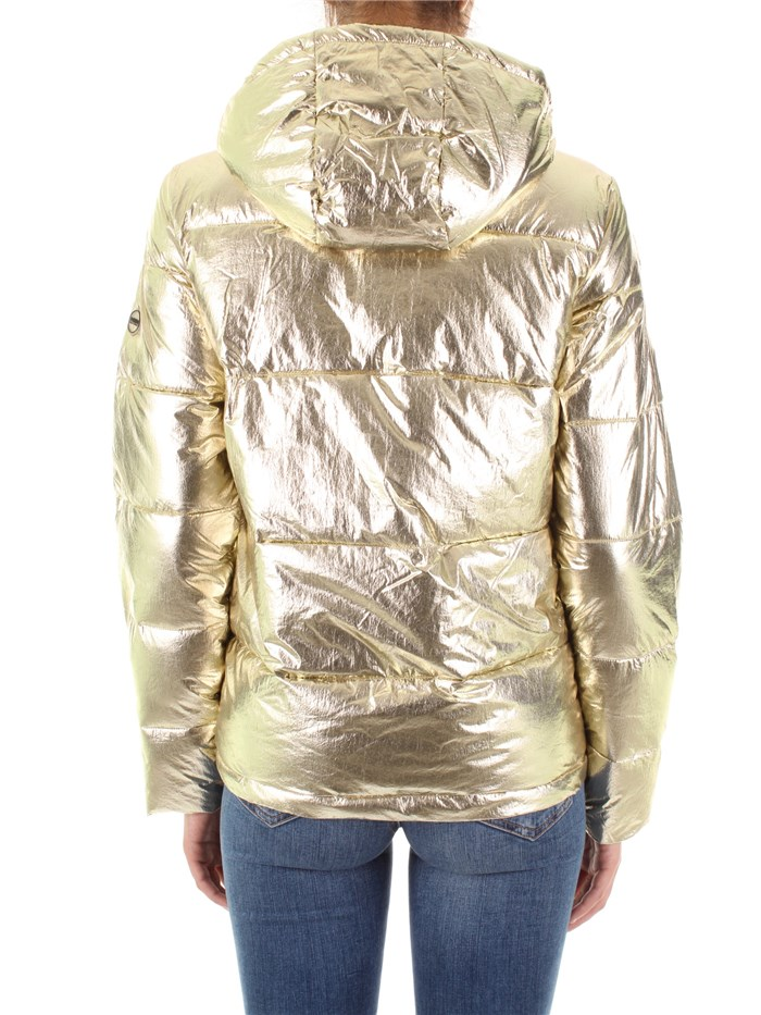 buy online c1005 3ec32 NO ZONE Piumino Donna Oro | Mxm Fashion