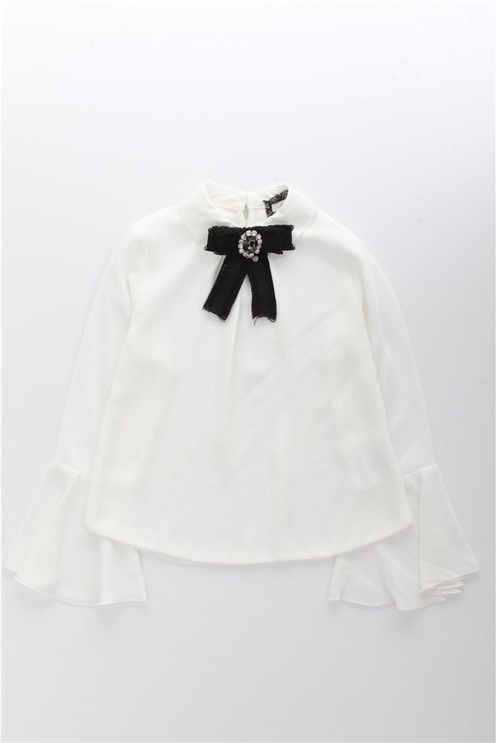rivenditore di vendita vivido e di grande stile comprare in vendita RELISH Girl Camicia Bambina Latte   Mxm Fashion