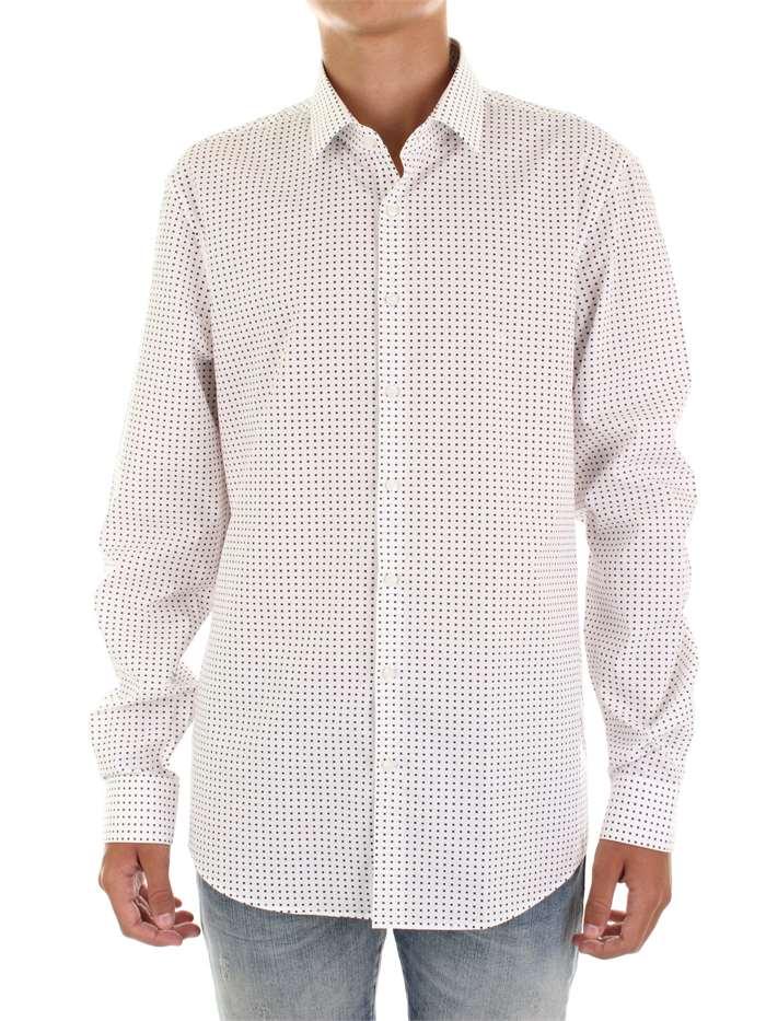 4004805d0c Calvin Klein Camicia Uomo Bianco/blu scuro | Mxm Fashion