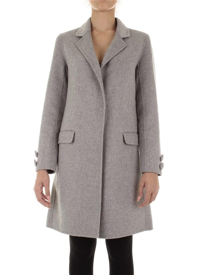 sale retailer d198f 66a46 RELISH Cappotto Donna Grigio chiaro | Mxm Fashion